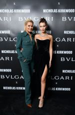 BELLA HADID at Bvlgari Celebrates Serpenti Forever by Nicholas Kirkwood in Milan 09/20/2017