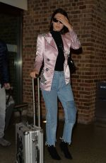 BELLA HADID at St Pancras Station in London 09/25/2017
