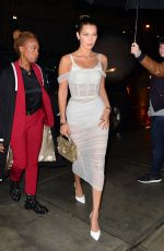 BELLA HADID Night Out in New York 09/07/2017