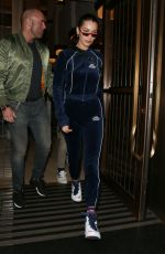 BELLA HADID Out and About in London 09/18/2017