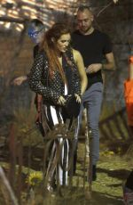 BELLA THORNE at It Haunted House in Hollywood 09/06/2017