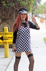 BELLA THORNE Heading to a Studio in Los Angeles 09/19/2017