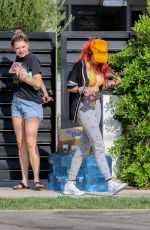 BELLA THORNE in BikiniTop Out in Los Angeles 08/31/2017