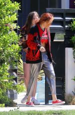 BELLA THORNE Leaves Her House in Los Angeles 09/21/2017