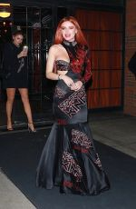 BELLA THORNE Night Out in New York 09/09/2017