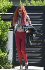 BELLA THORNE Out in Los Angeles 09/06/2017