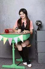 Best from the Past VICTORIA JUSTICE for Schoolgirl Photoshoot, 2012
