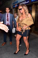 BEYONCE KNOWLESS Night Out in New York 09/15/2017