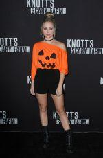 BREC BASSINGER at Knott's Scary Farm Celebrity Night in Buena Park 09/29/2017