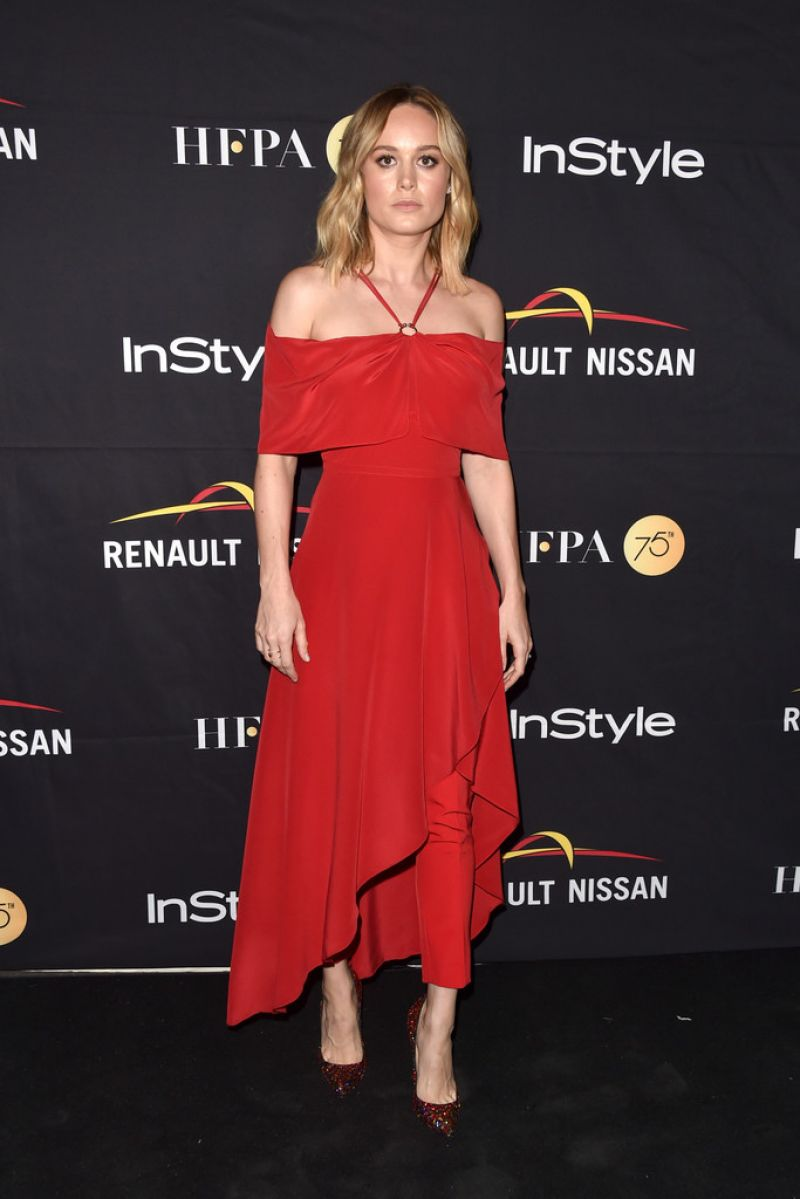 BRIE LARSON at hfpa & Instyle Annual Celebration of 2017 TIFF 09/09/2017