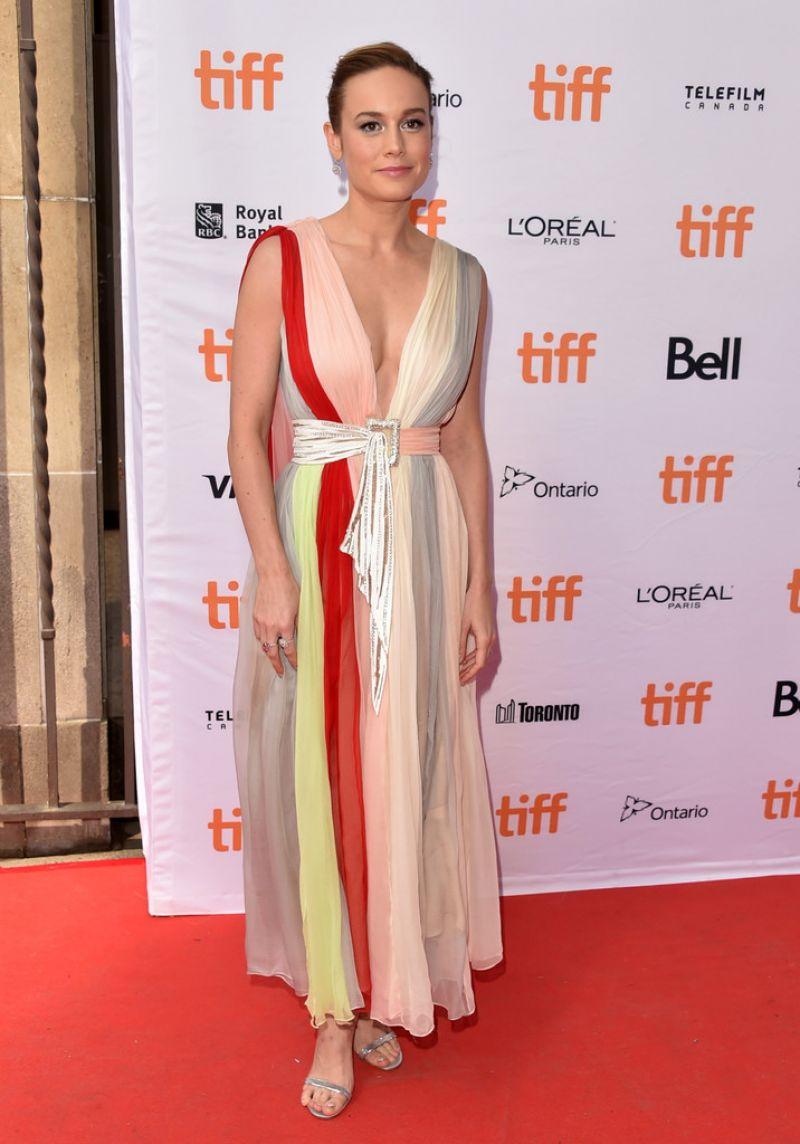 BRIE LARSON at Unicorn Store Premiere at 2017 Toronto International Film Festival 09/11/2017