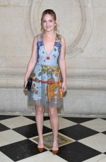 BRITT ROBERTSON at Christian Dior Fashion Show in Paris 09/26/2017