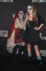 BRITT ROBERTSON at Knott's Scary Farm Celebrity Night in Buena Park 09/29/2017