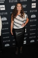 BROOKE SHIELDS at Harper's Bazaar Icons Party in New York 09/08/2017