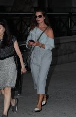 BROOKE SHIELDS Night Out in New York 09/05/2017