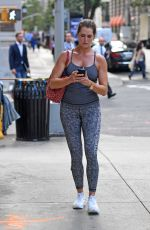 BROOKE SHIELDS Out for Breakfast in New York 09/27/2017