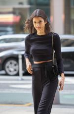 BRUNA LIRO at Fittings for Victoria's Secret Fashion Show in New York 08/29/2017