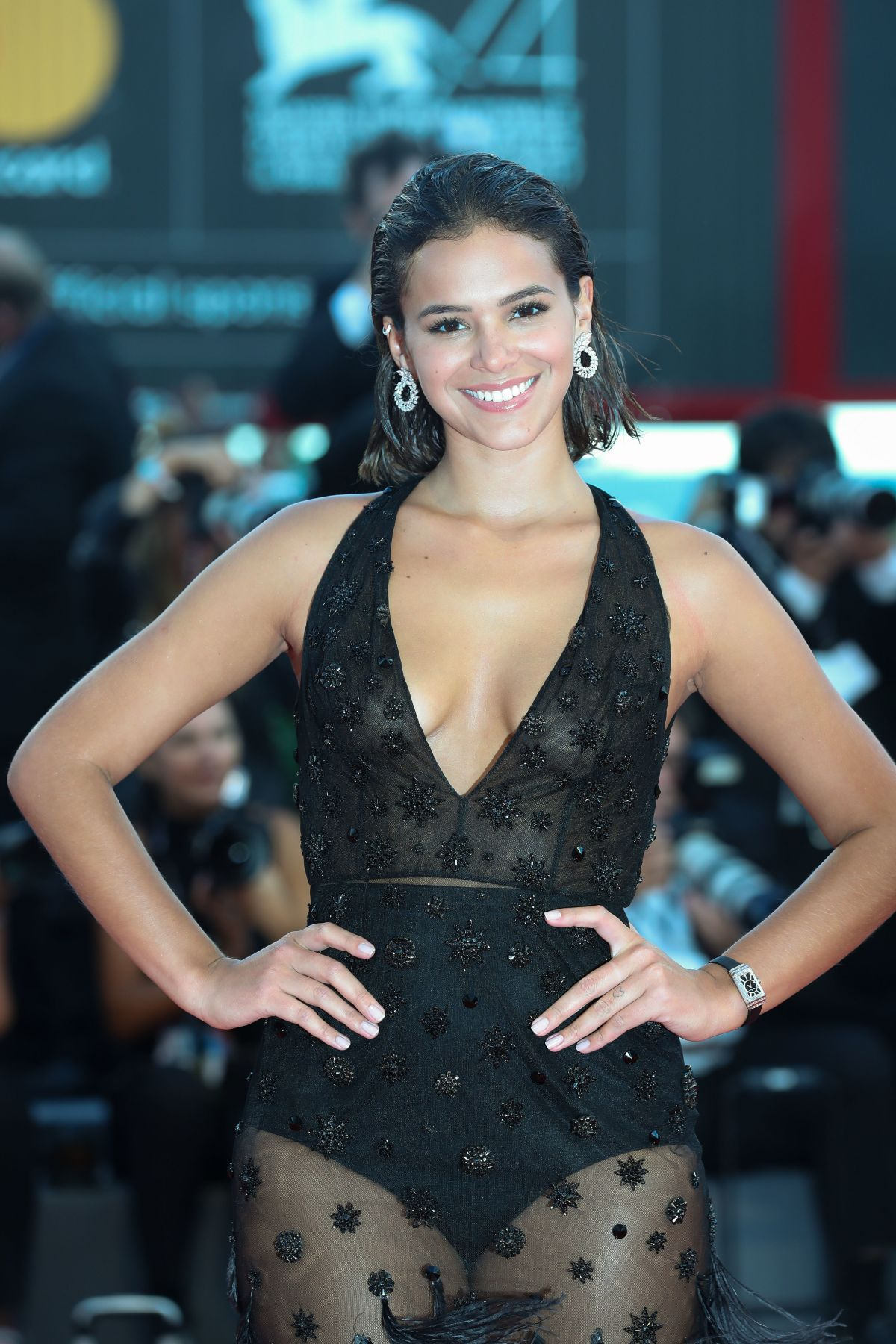 Bruna Marquezine Leisure Seeker Premiere Venice Film Festival Demi Lovato Selena Gomez Movie