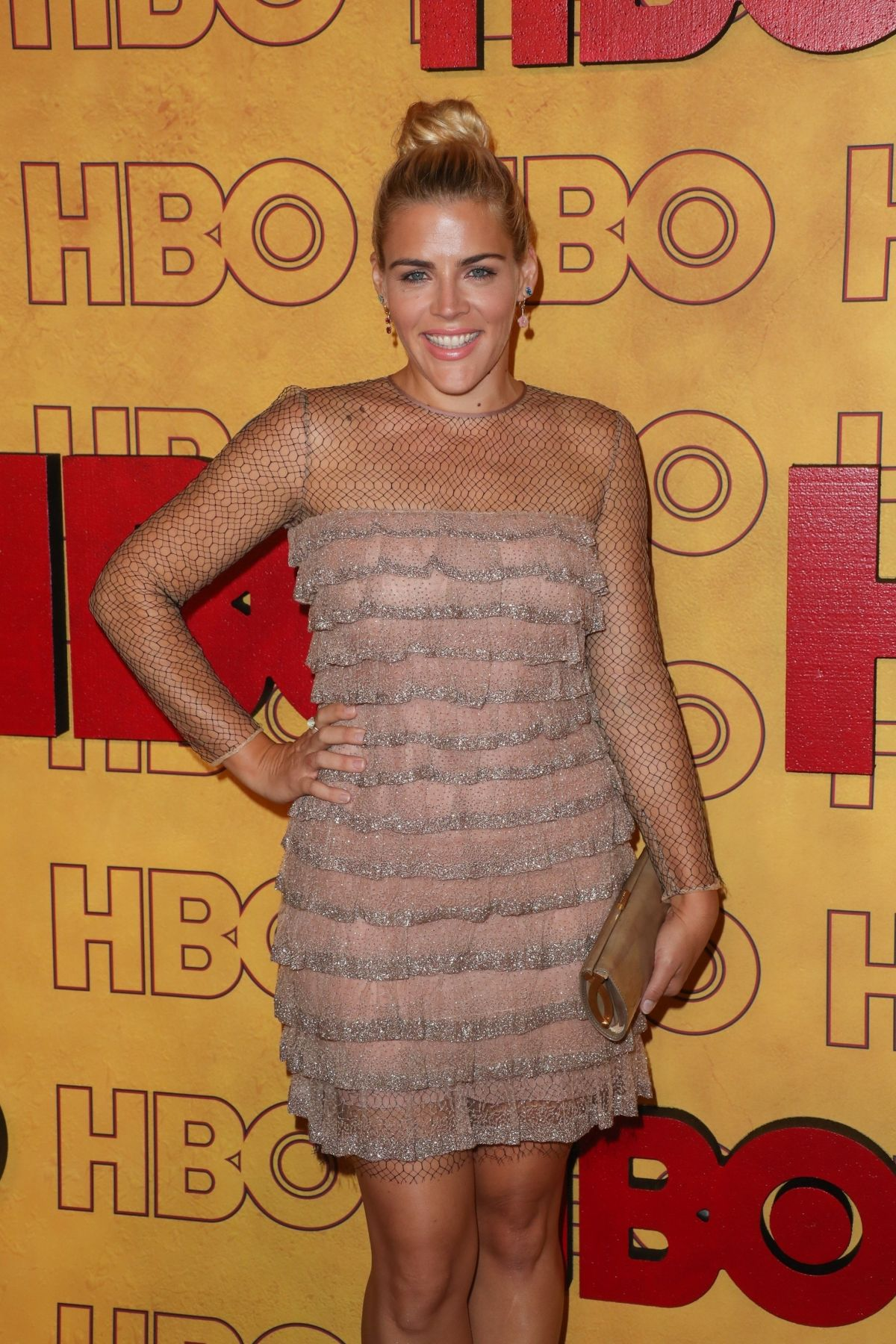 BUSY PHILIPPS at HBO Post Emmy Awards Reception in Los Angeles 09/17/2017