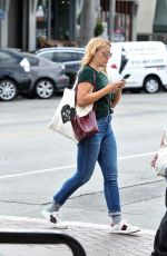 BUSY PHILIPPS at Starbucks in Los Angeles 09/20/2017