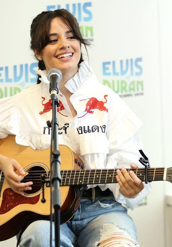 CAMILA CABELLO at Elvis Duran Z100 Morning Show in New York 09/27/2017