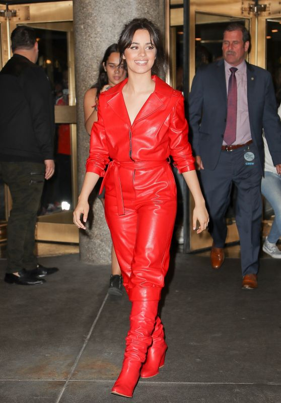 CAMILA CABELLO Leaves Tonight Show Starring Jimmy Fallon in New York 09/25/2017