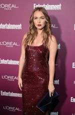 CAMILLA LUDDINGTON at 2017 Entertainment Weekly Pre-emmy Party in West Hollywood 09/15/2017