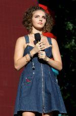 CAMREN BICONDOVA Speaks at Global Citizen Festival in New York 09/23/2017
