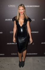 CAPRICE BOURRET at Julien MaCdonald Fashion Show in London 09/18/2017