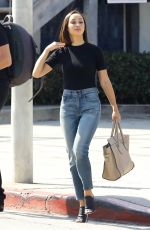 CARA SANTANA Out for Lunch in West Hollywood 08/31/2017