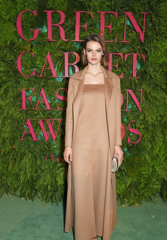 CARA TAYLOR at Green Carpet Fashion Awards in Milan 09/24/2017