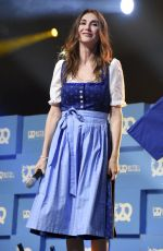 CARICE VAN HOUTEN at Bits & Pretzels Founders Festival in Munich 09/25/2017