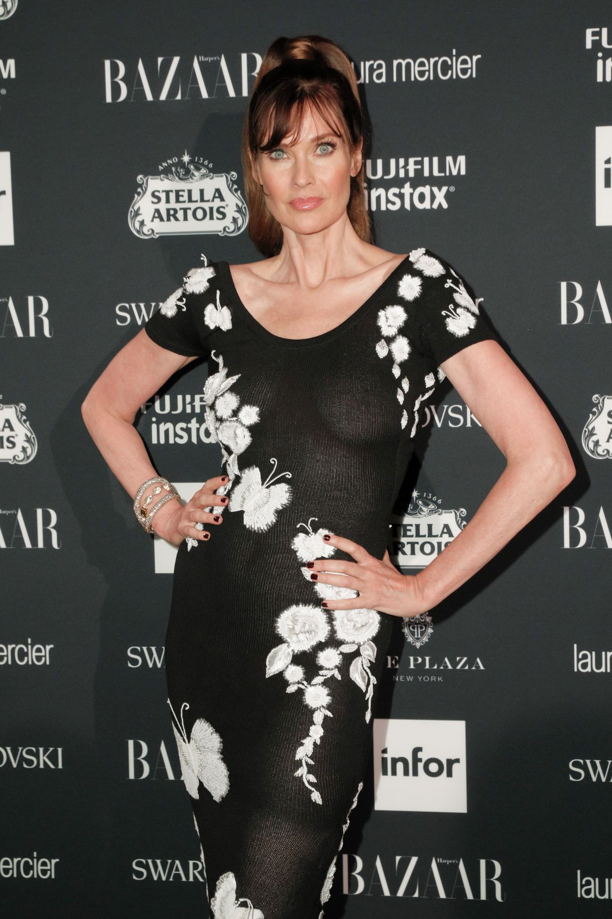 CAROL ALT at Harper's Bazaar Icons Party in New York 09/08/2017