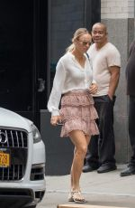 CAROLINE WOZNIACKI Out and About in New York 08/31/2017