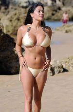 CASEY BATCHELOR in Bikini at a Beach in Spain 09/09/2017