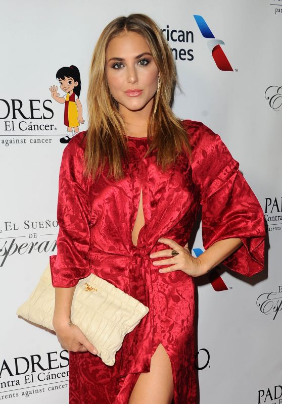 CASSIE SCERBO at Padres Contra El Cancer's 17th Annual El Sueno de Esperanza Celebration in Los Angeles 09/24/2017