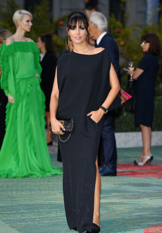 CATERINA BALIVO at Green Carpet Fashion Awards in Milan 09/24/2017