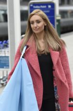 CATHERINE TYLDESLEY at Train Station in Manchester 09/04/2017