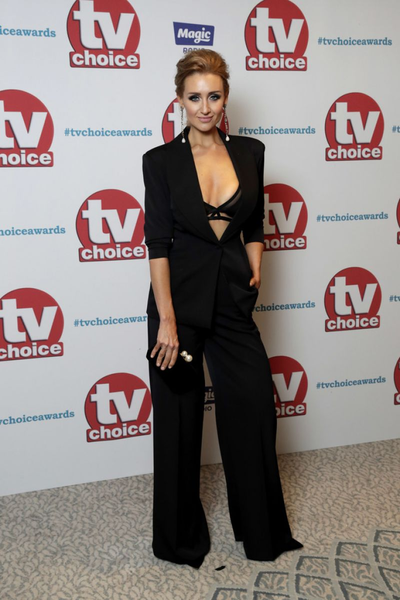 CATHERINE TYLDESLEY at TV Choice Awards in London 09/04/2017
