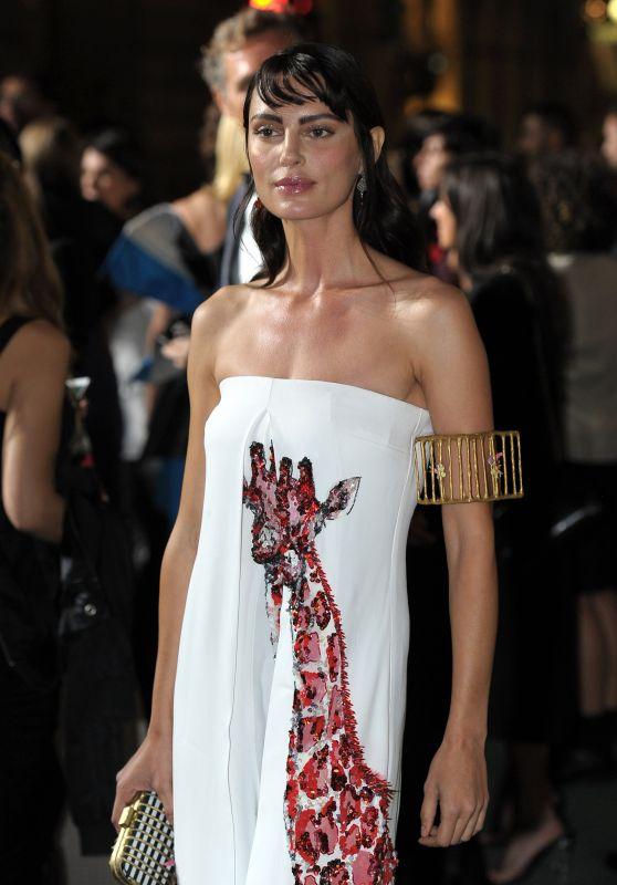 CATRINEL MARLON at Green Carpet Fashion Awards in Milan 09/24/2017