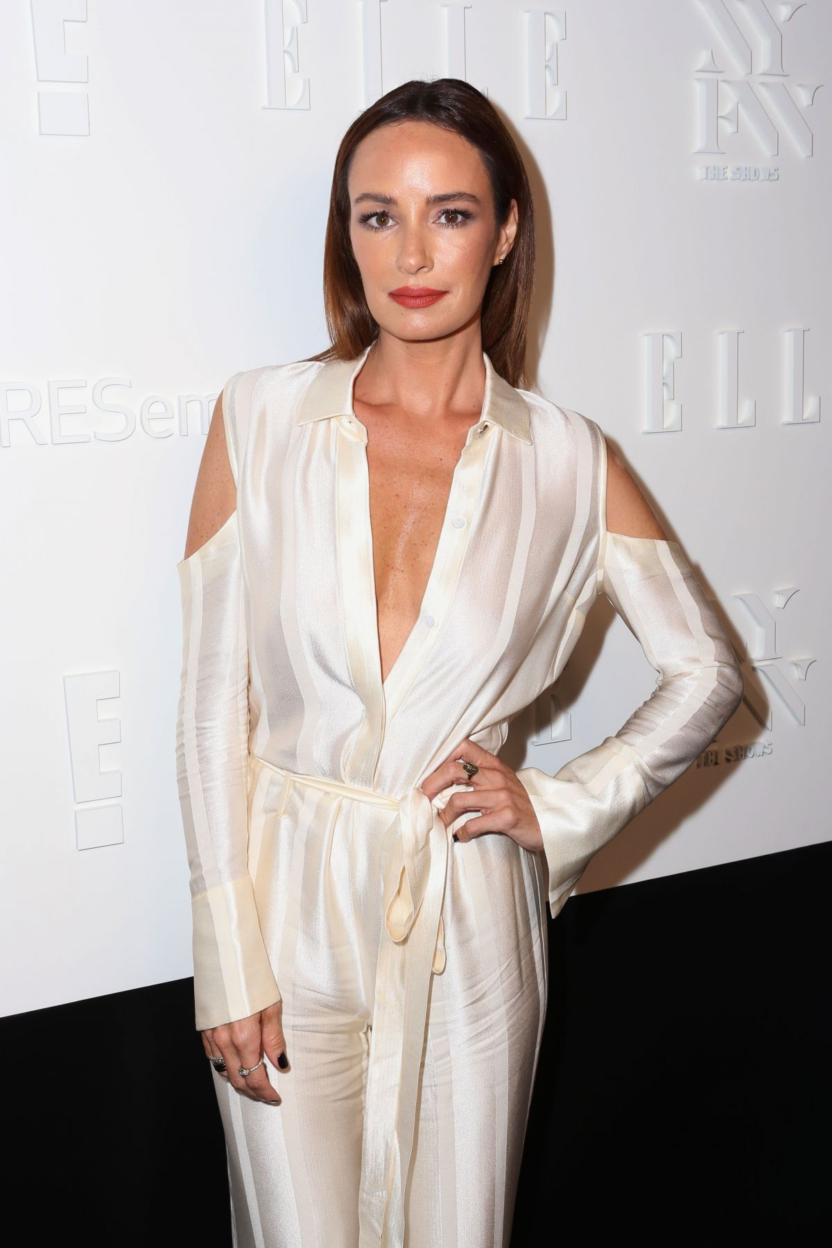 CATT SADLER at E!, Elle & Img Host New York Fashion Week Kickoff Party 09/06/2017