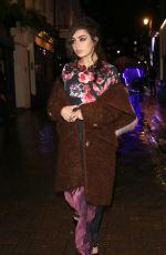 CHARLI XCX at Love Magazine x Miu Miu Party at London Fashion Week 09/18/2017