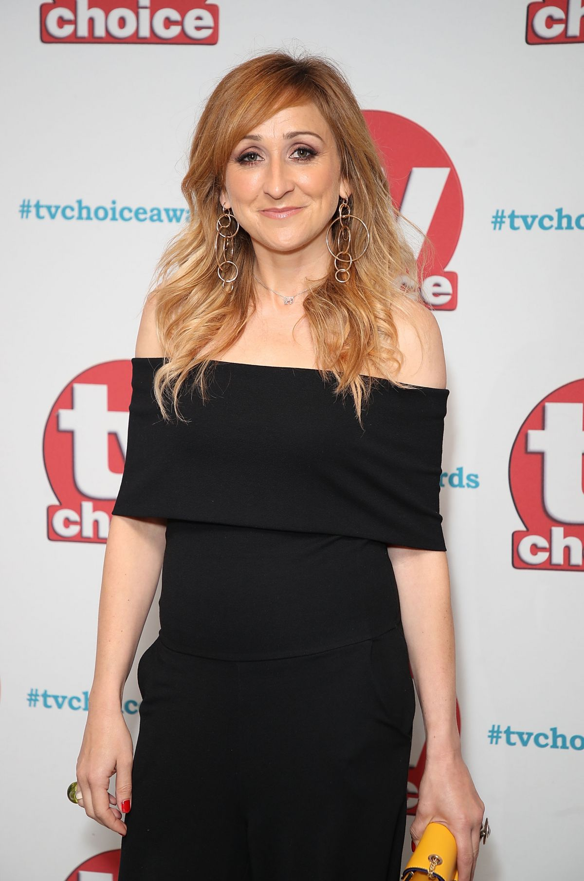 CHARLOTTE BELLAMY at TV Choice Awards in London 09/04/2017