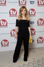 CHARLOTTE BELLAMY at TV Choice Awards in London 09/04/2017