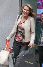 CHARLOTTE HAWKINS at ITV Studios in London 09/25/2017