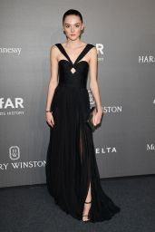 CHARLOTTE LAWRENCE at Amfar Gala in Milano 09/21/2017
