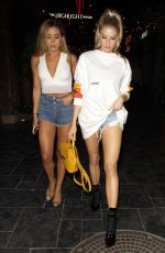 CHARLOTTE MCKINNEY Arrives at Highlight Room in Los Angeles 08/30/2017