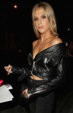 CHARLOTTE MCKINNEY at Catch LA in West Hollywood 09/19/2017