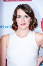 CHARLOTTE RITCHIE at TV Choice Awards in London 09/04/2017