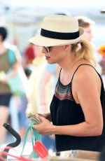 CHARLOTTE ROSS Shopping at Farmers Market in Los Angeles 09/03/2017
